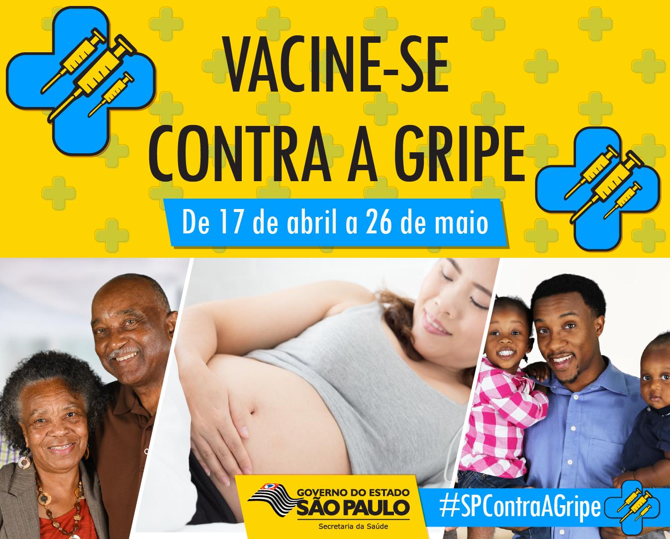 Ministério da Saúde prorroga campanha de vacinação contra gripe