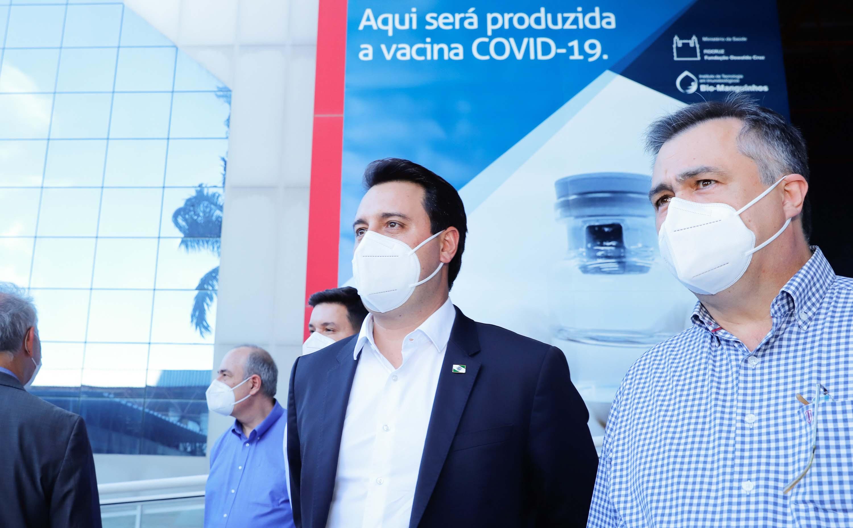 Vacinação contra covid 19 no Paraná começará em janeiro, afirma governador Ratinho Junior