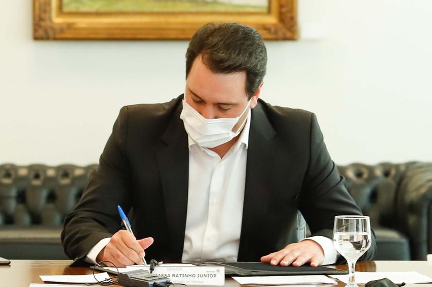 Governador Carlos Massa Ratinho Junior - Foto: Rodrigo Felix Leal