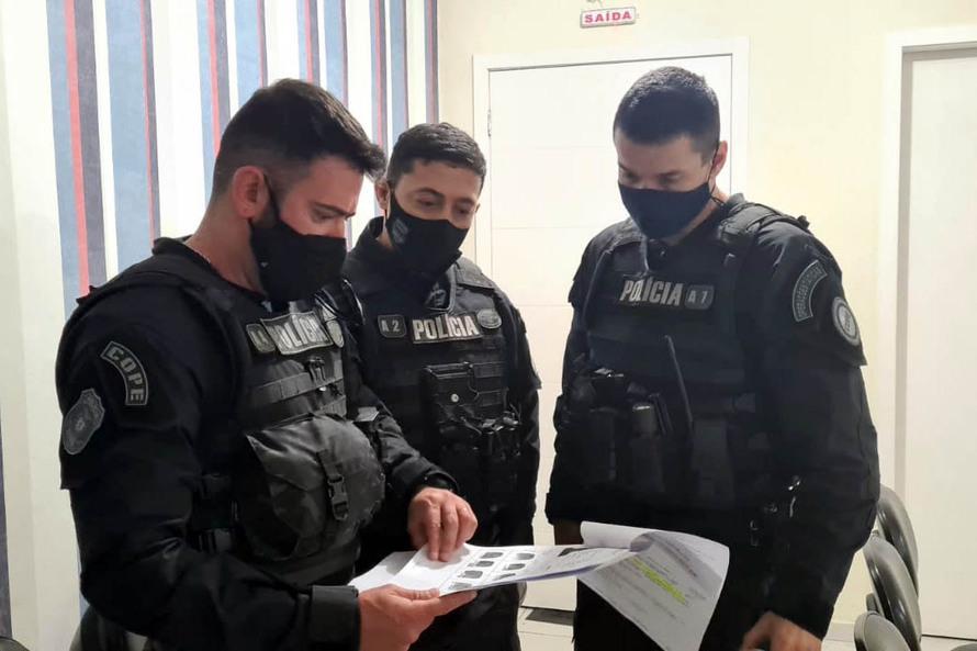 Polícia Civil do Paraná prende três pessoas por estupro de vulnerável em operação nacional contra crimes envolvendo crianças e adolescentes Foto: PCPR