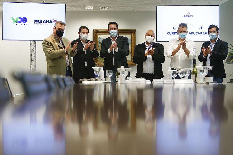 O anúncio da retomada da programação, suspensa desde março do ano passado em razão da pandemia de Covid-19, foi confirmada pelo governador Carlos Massa Ratinho Junior nesta quinta-feira (16), em ato n