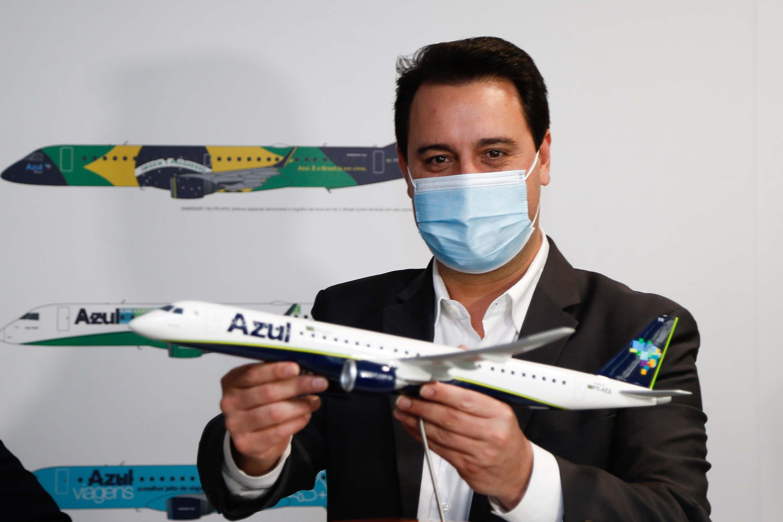 Com expansão de voos da Azul, Paraná fortalece turismo regional e geração de empregos